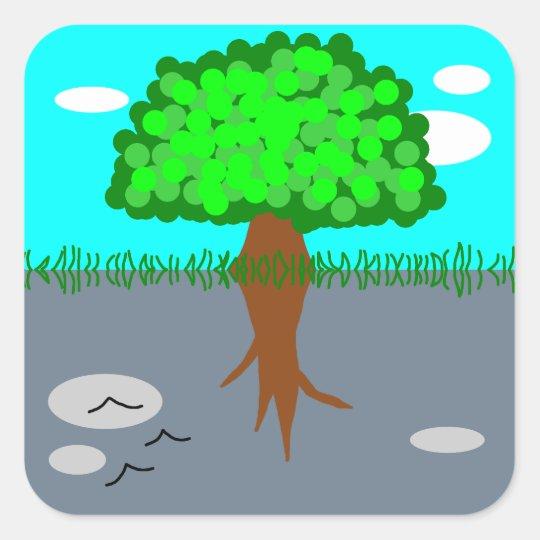 tree スクエアシール