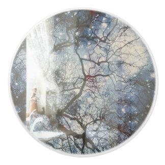 """Tree & Star"" Ceramic Pull セラミックノブ"