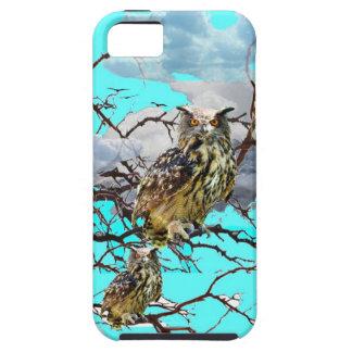 TREEBLUESのデザインのギフトを持つ荒野のフクロウ iPhone SE/5/5s ケース