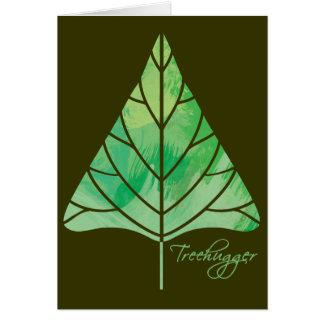 Treehuggerの挨拶状 カード
