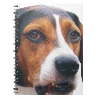 Treeingの歩行者のCoonhoundのノート ノートブック
