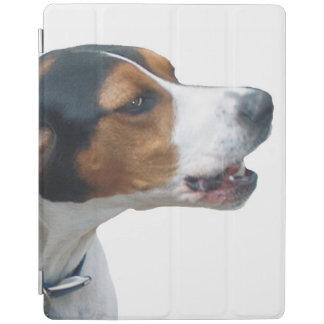 Treeingの歩行者のCoonhound iPadスマートカバー