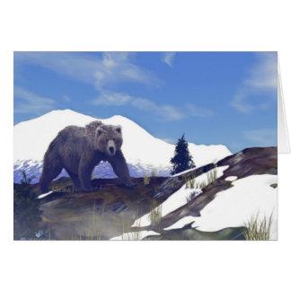 Treelineのハイイログマ カード