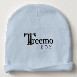 Treemoのギアの男の赤ちゃんの前部または背部リバーシブルの帽子 ベビービーニー