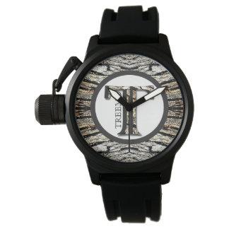 Treemoのギアの種族のリーダーの迷彩柄パターンメンズウォッチ 腕時計