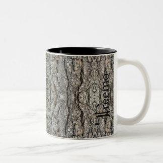 Treemoのギアの静かな強さの迷彩柄パターンマグ ツートーンマグカップ