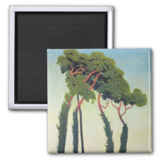 Trees 1911年との景色 マグネット