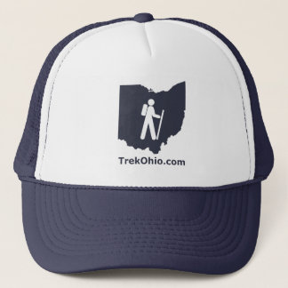 TrekOhioのトラック運転手の帽子、海軍 キャップ