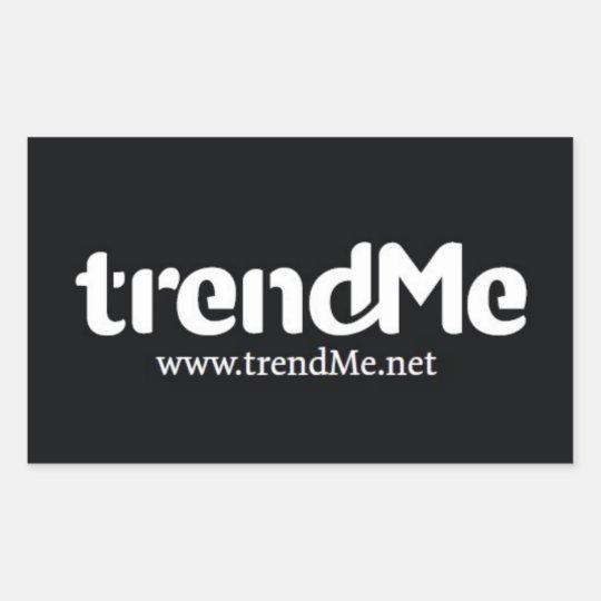 trendMeオリジナルステッカー 長方形シール
