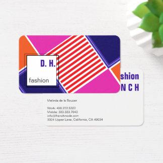 Trendy colors Business Card 名刺