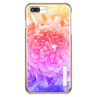 Trendy Yellow, Pink, Purple Rose Incipio DualPro Shine iPhone 8 Plus/7 Plusケース