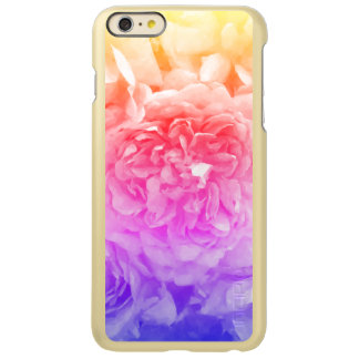 Trendy Yellow, Pink, Purple Rose Incipio Feather Shine iPhone 6 Plusケース