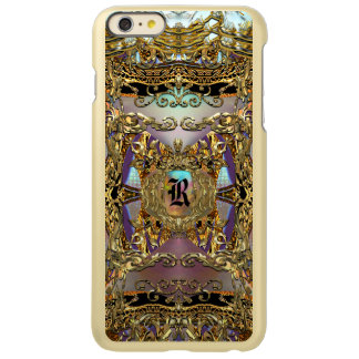 Trèsのornéのエレガントなモノグラムの Incipio Feather Shine iPhone 6 Plusケース