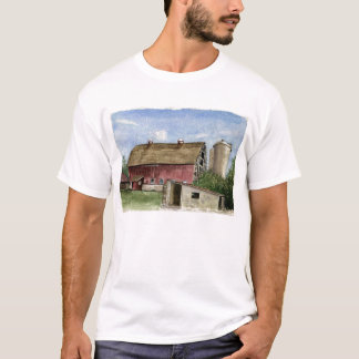 Trescherの元の納屋-ワイシャツ Tシャツ