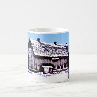 Trescherの納屋のマグ コーヒーマグカップ