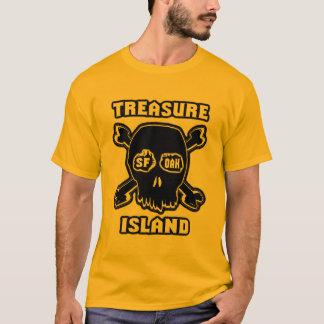 Tresureの島SFのカシの目 Tシャツ