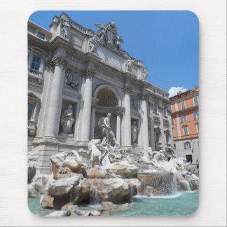 Treviの噴水ローマ マウスパッド