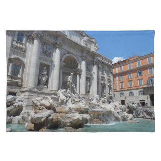 Treviの噴水ローマ ランチョンマット