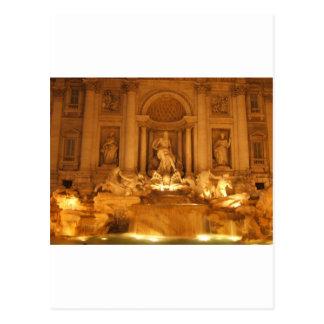 Treviの噴水 ポストカード