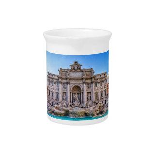 Treviの噴水、ローマ、イタリア ピッチャー