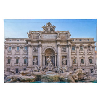 Treviの噴水、ローマ、イタリア ランチョンマット