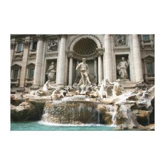 Treviの噴水(Fontana di Trevi) -ローマ キャンバスプリント