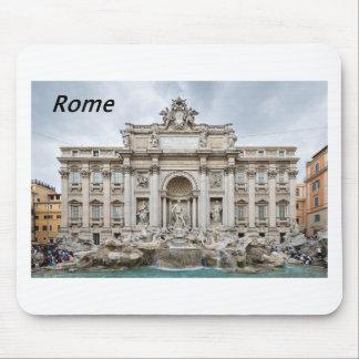 Trevi噴水、-ローマ、- Angie.JPG マウスパッド
