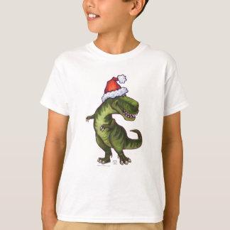 TRexのクリスマス Tシャツ