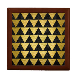 TRI2 BKの大理石の金ゴールド ギフトボックス
