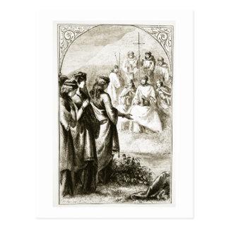 「Triaからの聖職者の宗教会議の視野、 ポストカード