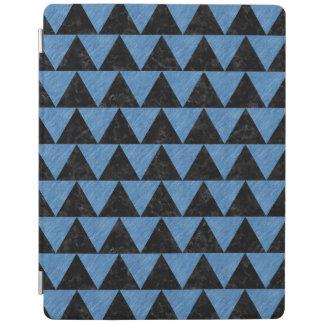 TRIANGLE2黒い大理石及び青鉛筆 iPadスマートカバー