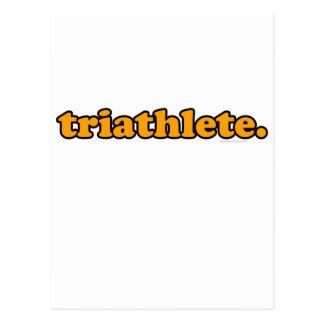 triathlete ポストカード