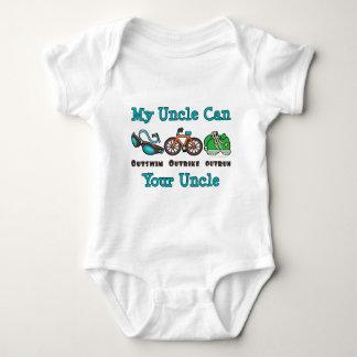 Triathlon Baby Creeper叔父さん ベビーボディスーツ