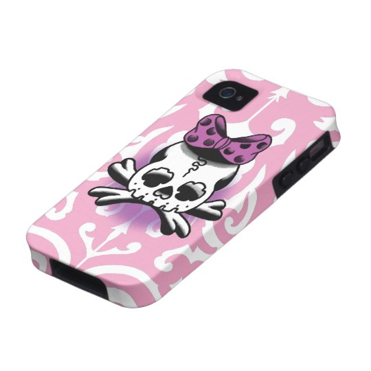 Tribal cover / Rose Pink iPhone 4 Case-Mate