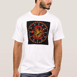Tribal Dragon Tシャツ