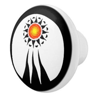 Tribal Sun and Rays 2 セラミックノブ