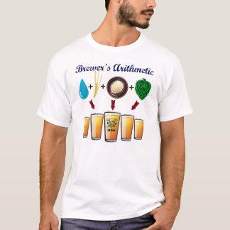 TriBEERatopsからの醸造用の算術T Tシャツ