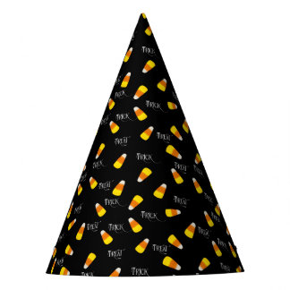 Trick or Treat Candy Corn パーティーハット
