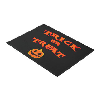 Trick or Treat Halloween Doormat ドアマット