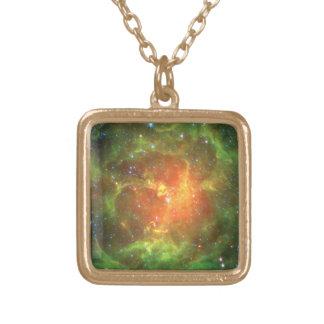 Trifid星雲 ゴールドプレートネックレス