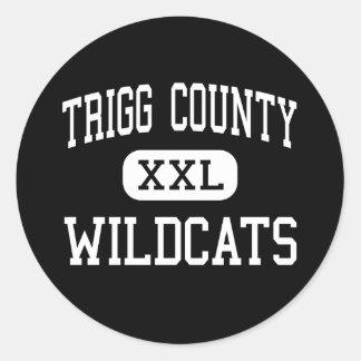 Trigg郡-山猫-高カディスケンタッキー ラウンドシール