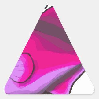 Triggerfish! 三角形シール