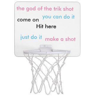 trikの打撃 ミニバスケットボールゴール