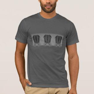 Trilobiteの繰り返しのTシャツ Tシャツ