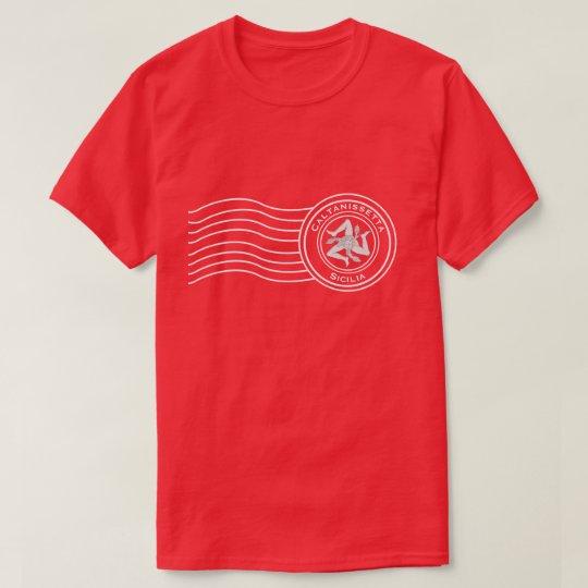 Trinacriaのシシリアの消印あなたの文字 Tシャツ