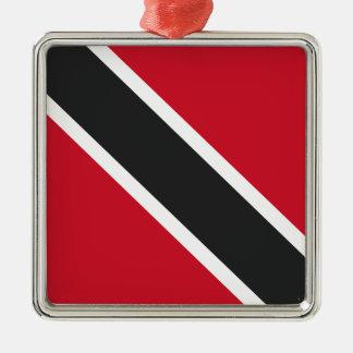 Trinidadtobagoの旗 メタルオーナメント
