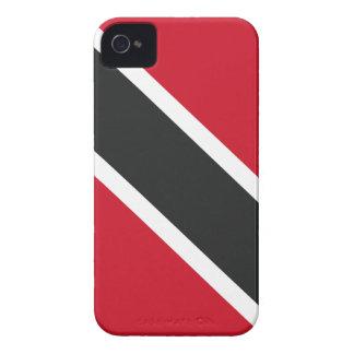 Trinidadtobagoの旗 Case-Mate iPhone 4 ケース