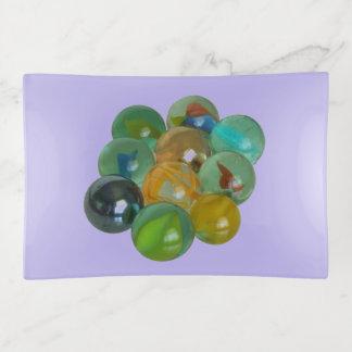 Trinket Tray - Glass Marbles トリンケットトレー