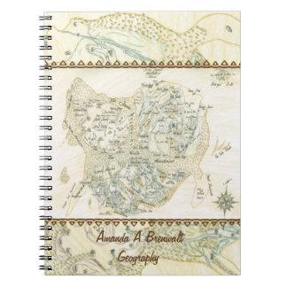 Trinoの分類された地図 ノートブック