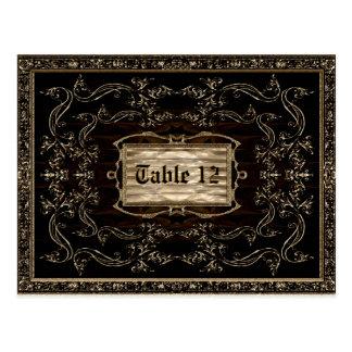 TriompheL Spinozaのテーブルカード ポストカード